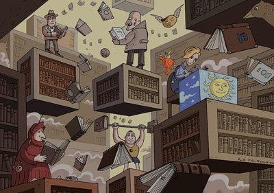 Всероссийский конкурс рисованных историй (комиксов) «Место действия – библиотека!»