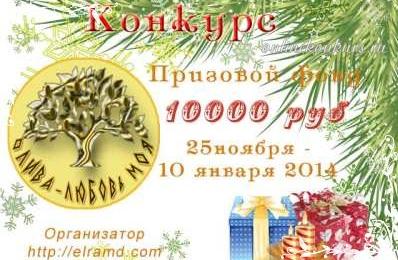 новогодний статейный конкурс 2014