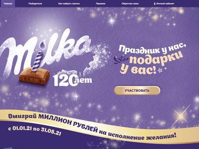 Акция Milka