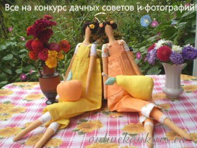 Фотоконкурс и творческий конкурс дачных советов, приз — ТРИММЕР!