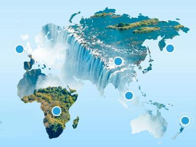 Акция Aqua Minerale — «Открой водные чудеса мира»