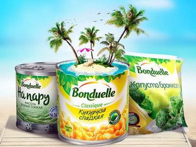 Рекламная Акция «Bonduelle. Готовь, выигрывай, путешествуй»