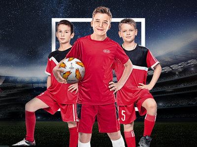Конкурс Kia «Детский конкурс Лига Европы»