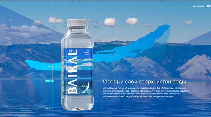 Акция «Путешествие на Байкал»